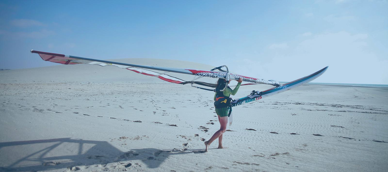 Voyage kitesurf, windsurf, stand up paddle et surf